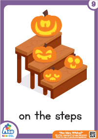 How Many Witches? - on the steps