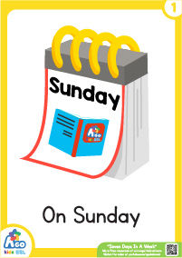 Seven Days In A Week - Sunday