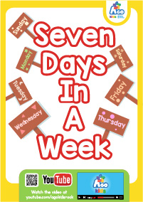 Seven Days In A Week - Front Cover