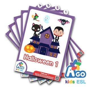 Free ESL Flashcards - Halloween 1