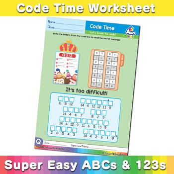 Alphabet ABC decoder worksheet q