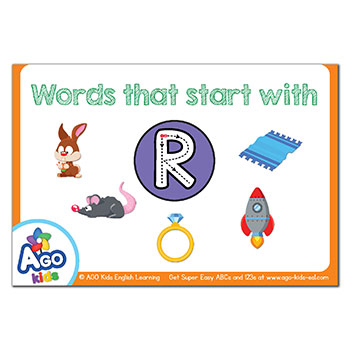 FREE Flashcards that start with the letter R