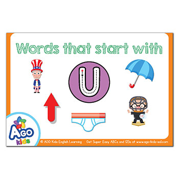 FREE Flashcards that start with the letter U
