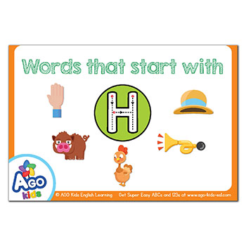 FREE Flashcards that start with the letter H