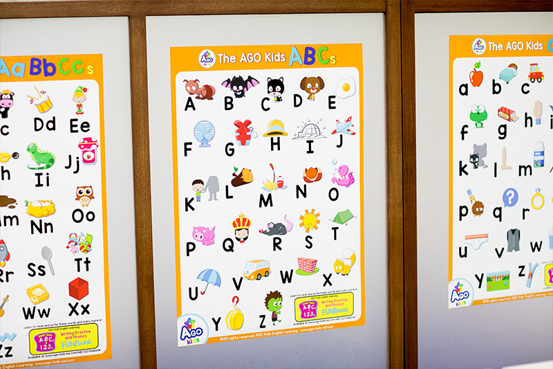 Free abc 123 posters esl efl classroom