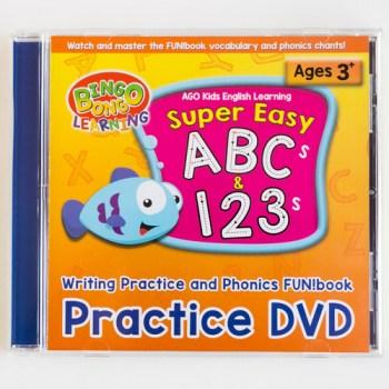 BINGOBONGO practice DVD ABCs 123s phonics