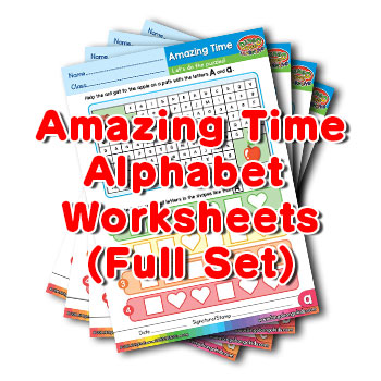 Alphabet ESL Worksheet Pack