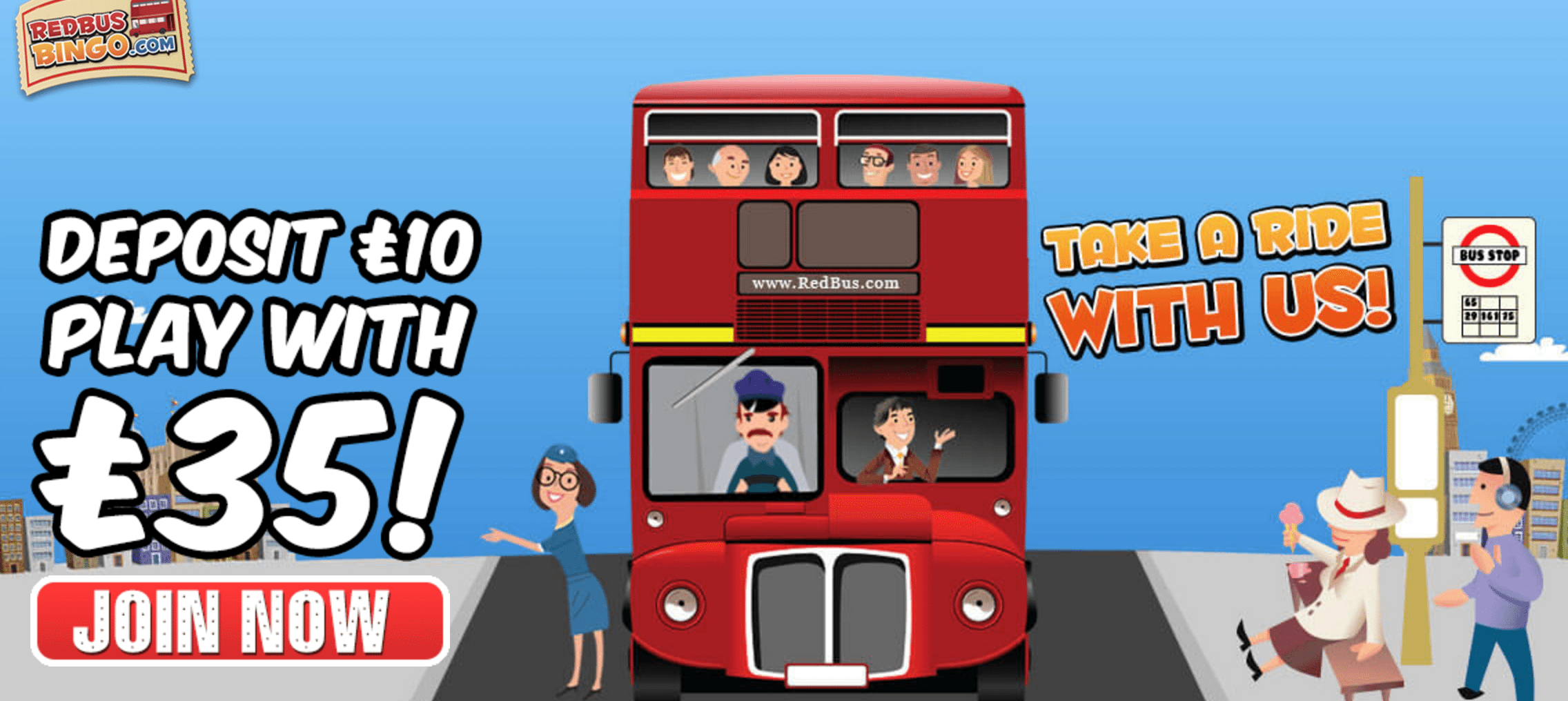 red bus welcome offer