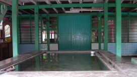 Rain-fed Ablution Pool
