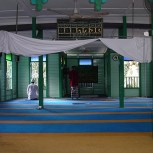 Inside the Surau
