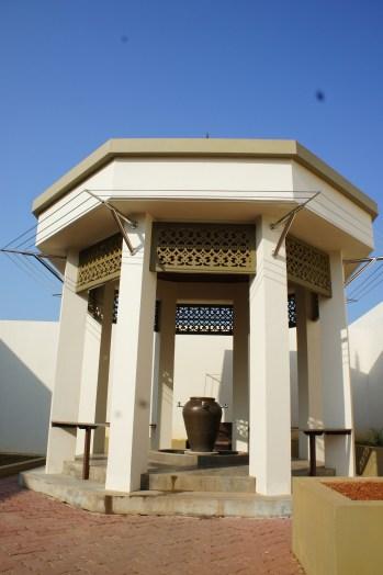 Pagoda for ablutions