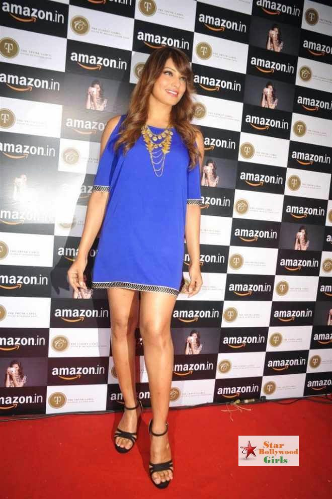 bipasha basu latest stills at amazon.in event3