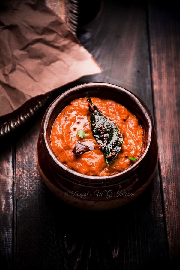 Tomato Chutney Photohraphy