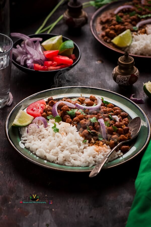Punjabi Chana Masala Photography