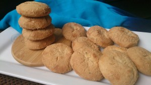 Almond Cookies (Nankhatai)