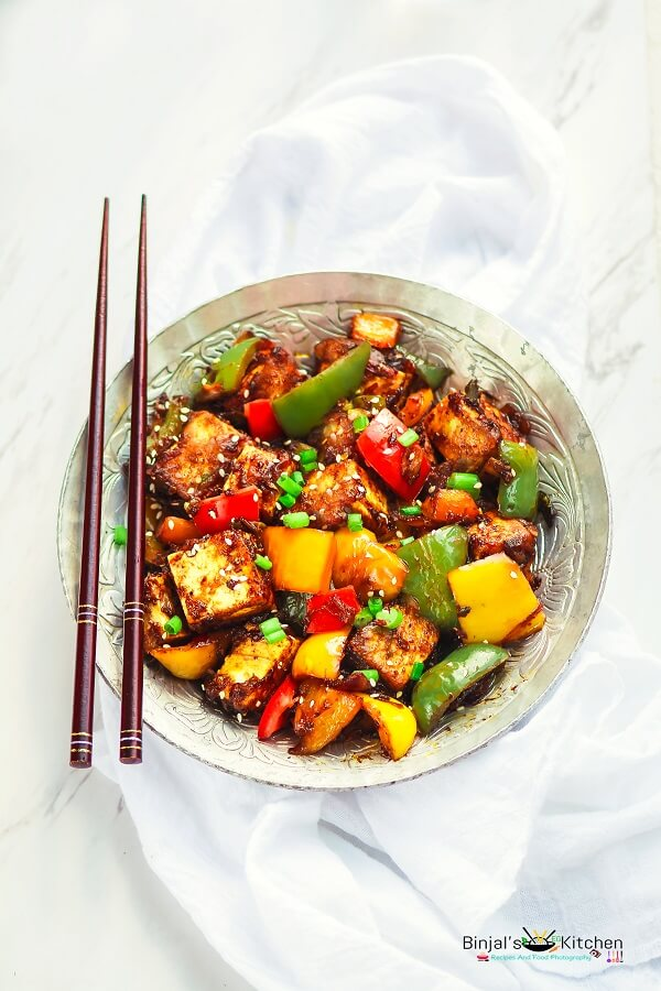 Chilli Paneer Photography