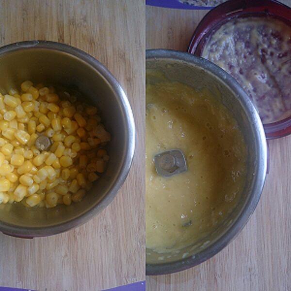 Veggie Sweet Corn Soup 1
