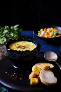 Veggie Sweet Corn Soup
