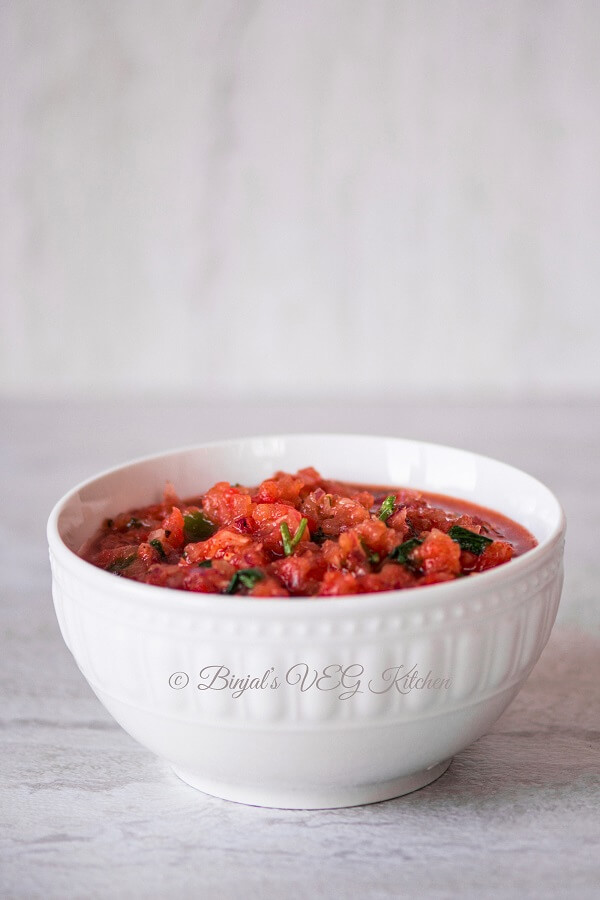 Tomato Salsa Photography