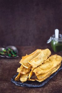 Fafda (Crispy Gram Flour Snack)