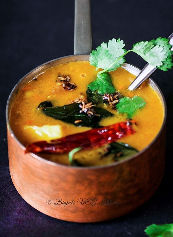 Restaurant Style Tiffin Sambar Photography