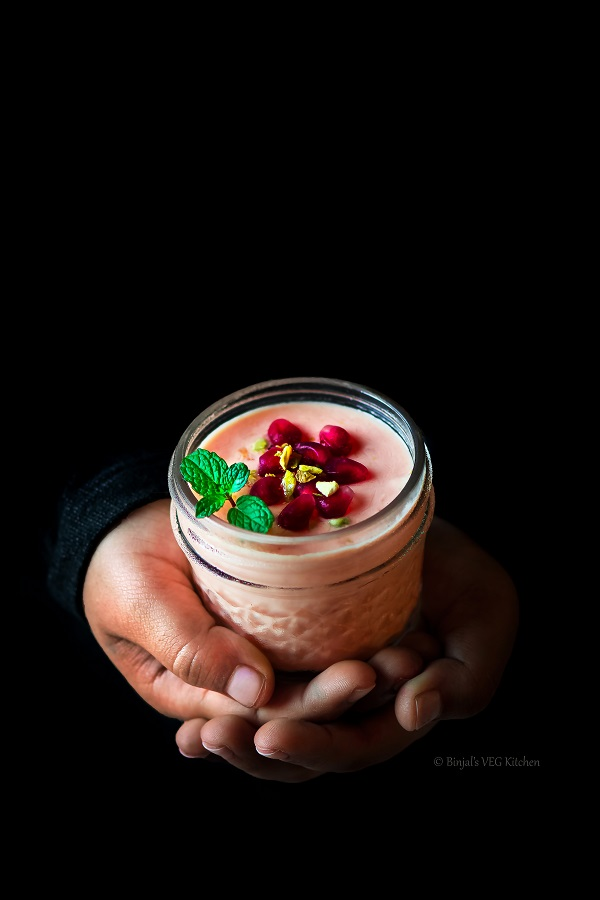 Pomegranate Mousse