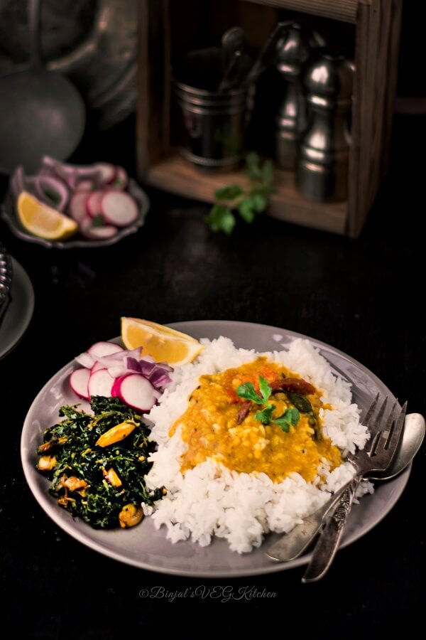Restaurant Style Dal Fry Photography