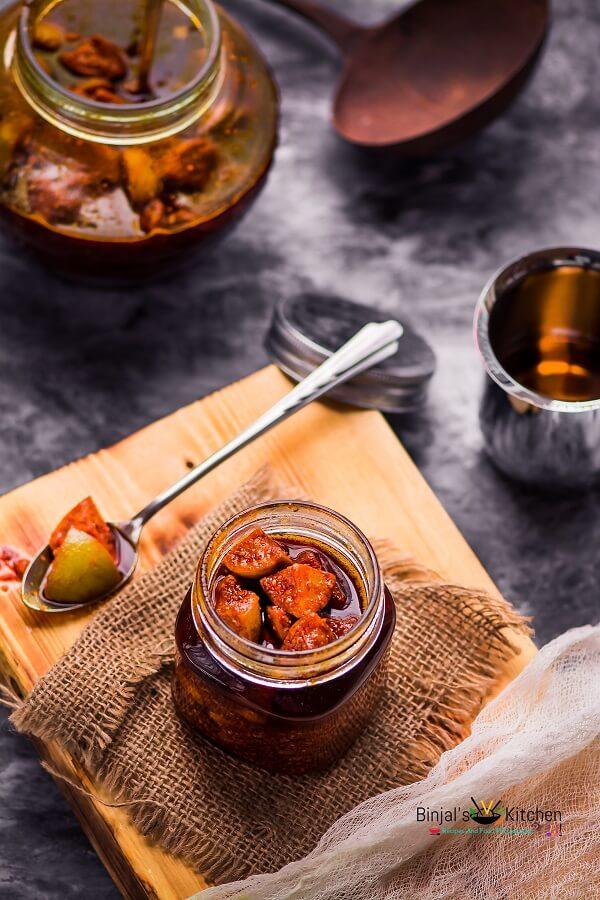 Sweet Lemon Pickle Limbu Nu Athanu  Binjals VEG Kitchen