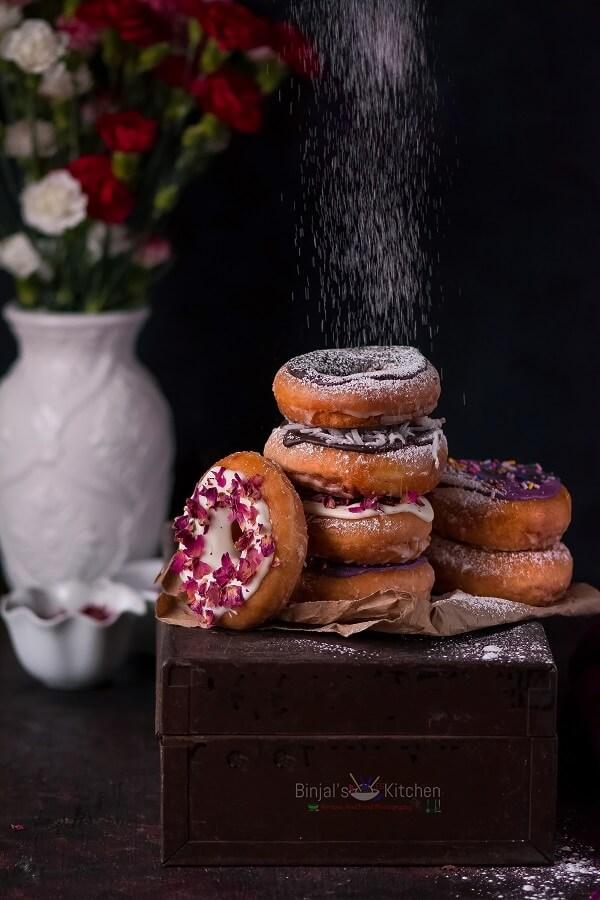 Homemade Vegan Donuts or Doughnuts