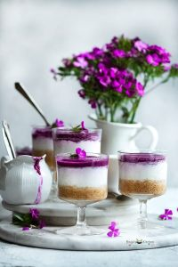 No Bake Jamun Cheesecakes