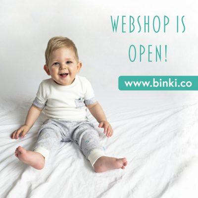 BiNKi webshop is open