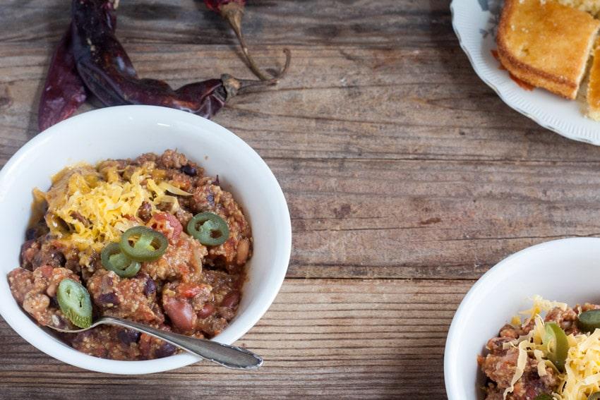 triple delight chili