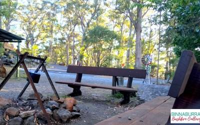 Reflection Benches at Binna Burra