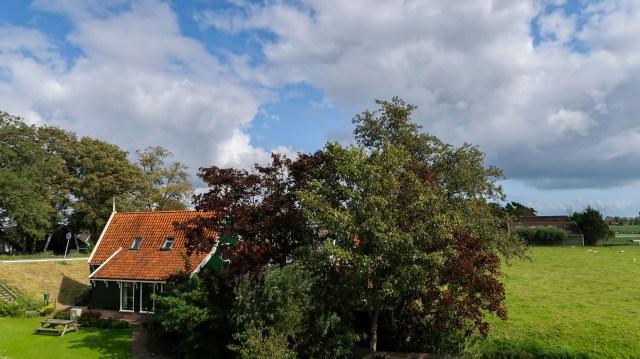 Beemster in Beeld - Klaterbuurt vanaf dijk Beemsterringvaart