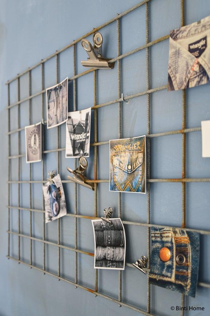 Interieurinspiratie werkkamer denim industrieel ©BintiHome-9