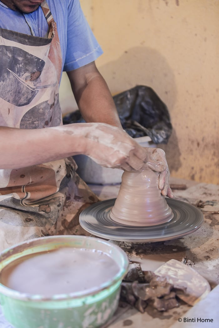 Tunis Village pottery home Egypt Fayoum Experience This is Egypt ©BintiHome