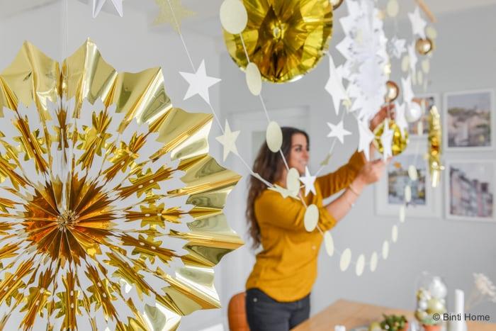 Interieurtips voor tafelstyling kandelaars stylingtip kersttrend goud 2015 ©BintiHome