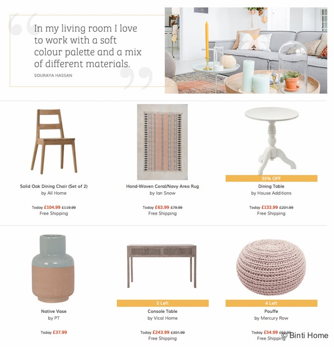 Guest curation styling and shop the style wayfair  ©BintiHome-2