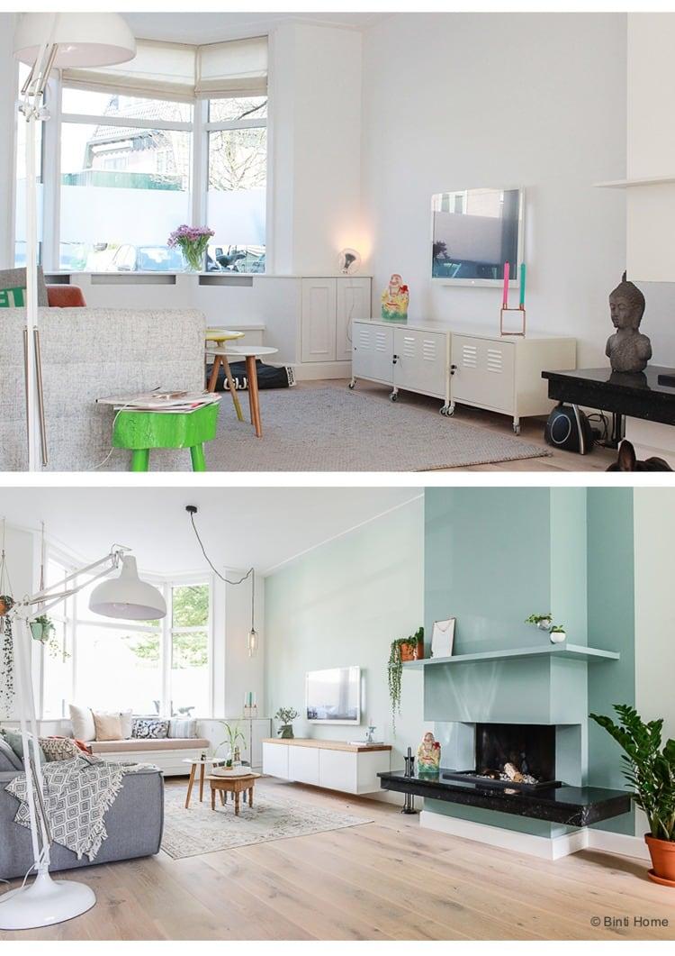 Mintgroen Accessoires Huis.Interieurontwerp Woonkamer Jaren 30 Huis Inrichten In Haarlem