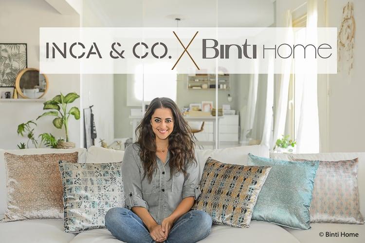 Velvet trend Collection Inca&Co X Binti Home Logo ©BintiHome