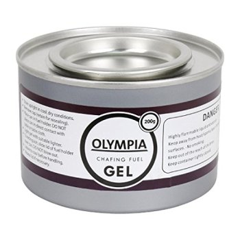 Olympia Chafing Gel Fuel Cans Outdoor Heating Bio Ethanol