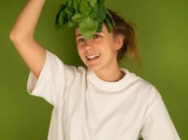femme végétarienne