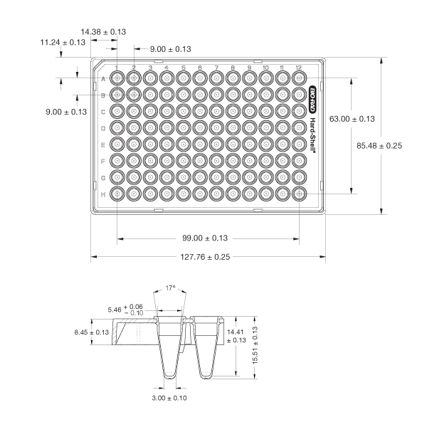 Elisa plate template