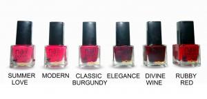 nail polish - palette 1