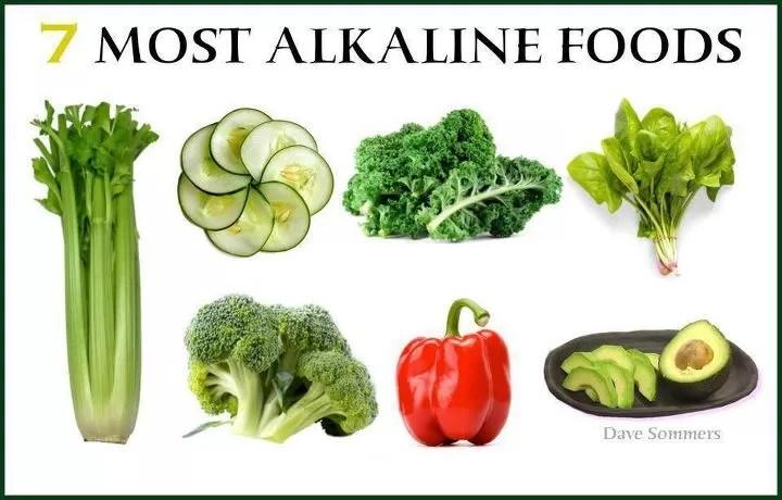 7-most-alkaline-foods