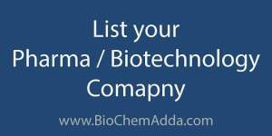 List your Pharma BioTech Company | BioChem Adda