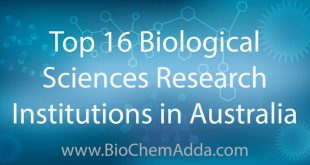 Top 16 Biological Sciences Research Institutions in Australia: Discover Australia's top universities for biological sciences.