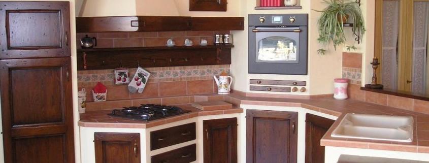 Realizzazione cucine in muratura - Stufe e camini Catania ...