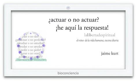 actuar o no actuar