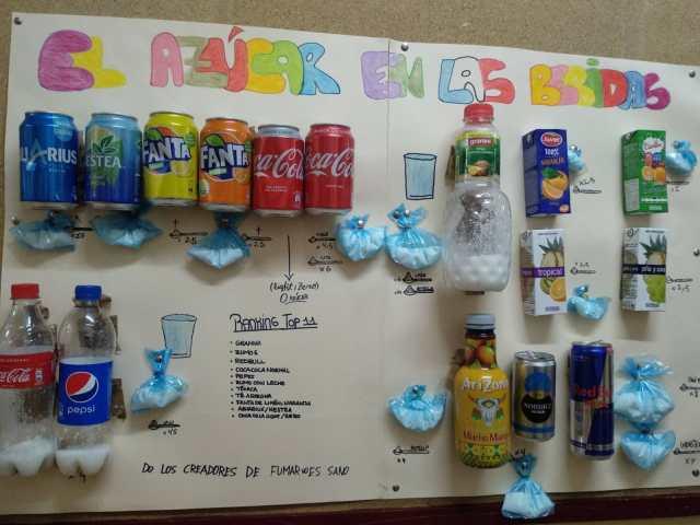 azúcar y bebidas